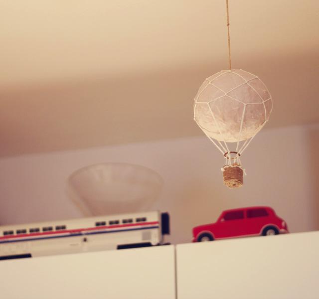 hot air balloon mini cooper car toy amtrak train