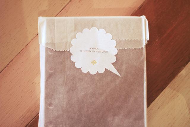 mulberry agenda insert 2013 week to view diary new