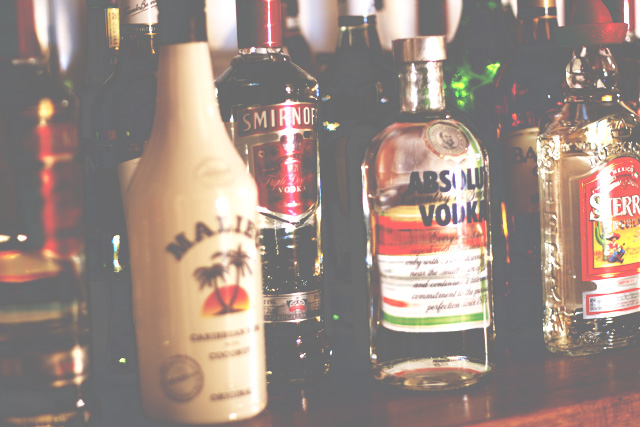 Liquor spirit alcohole vodka tequila sierra absolut smirnoff malibu coconut