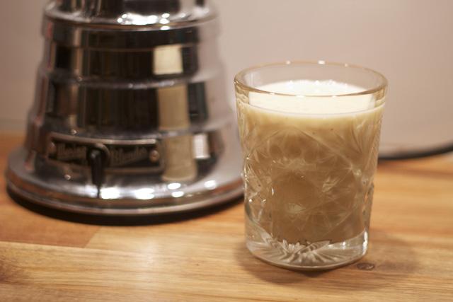 milkshake banana yoghurt milk