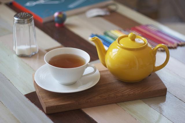 yellow teapot pristine england gul tekanna tekopp swedish grace porslin frukost earl grey