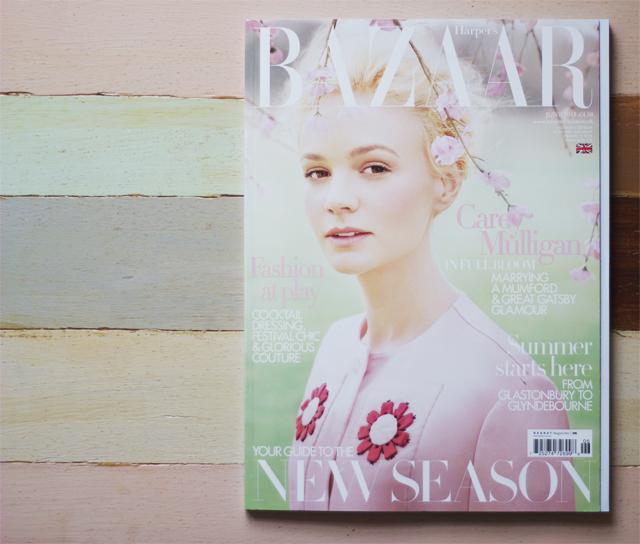 harper's bazaar carey mulligan great gatsby movie actress daisy june 2013