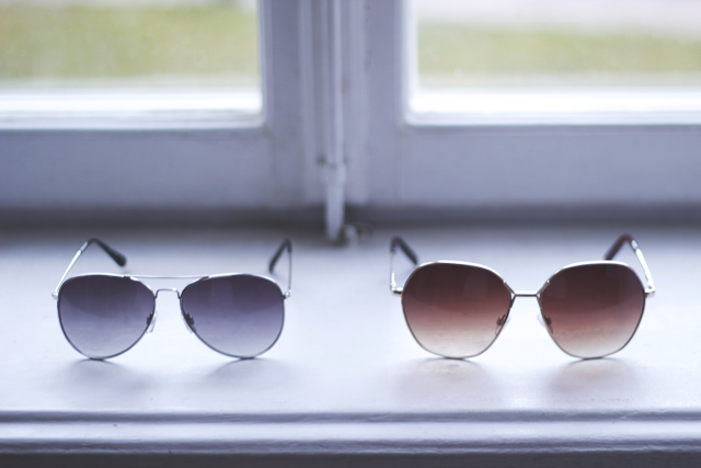 pilot sunglasses H&M HM solglasögon