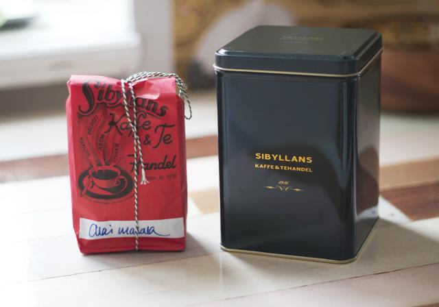 sibyllans kaffe- och tehandel chai masala teburk chaite tea